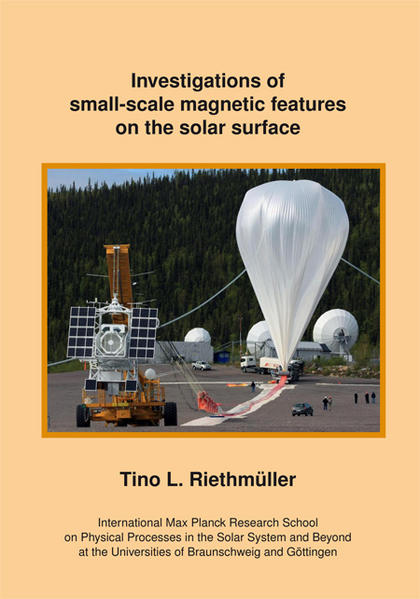 Investigations of small-scale magnetic features on the solar surface - Coverbild