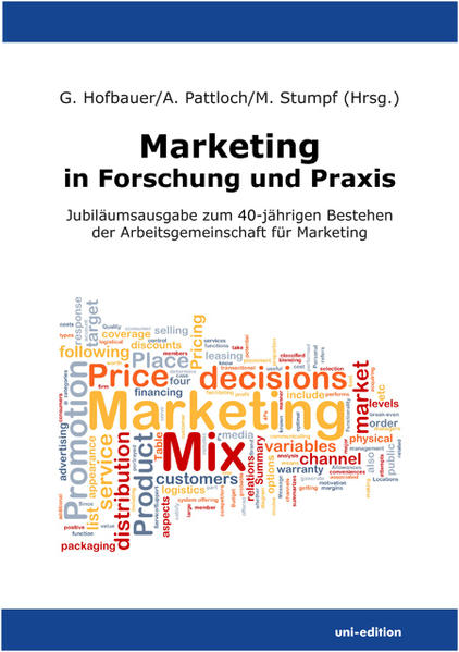 Marketing in Forschung und Praxis - Coverbild