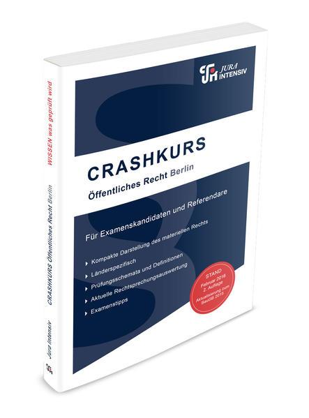 CRASHKURS Öffentliches Recht - Berlin - Coverbild