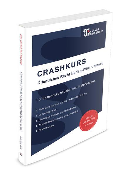 Kostenloser Download CRASHKURS Öffentliches Recht - Baden-Württemberg PDF
