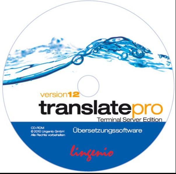 translate pro Terminal Server Edition 12 Deutsch-Französisch - Coverbild