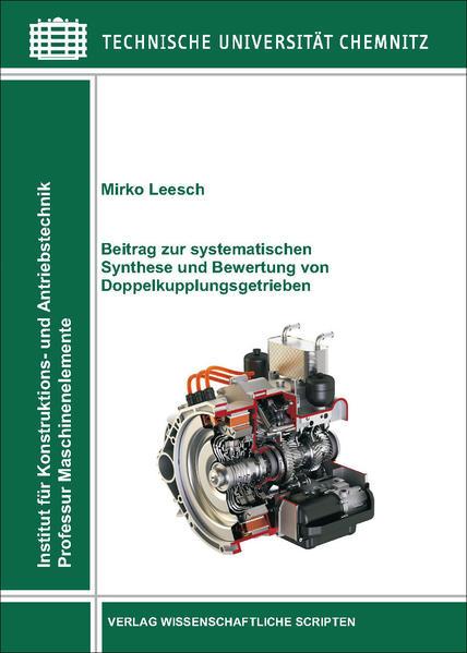 Dissertation Mirko Leesch, TU Chemnitz, Fakultät für Maschinenbau - Coverbild