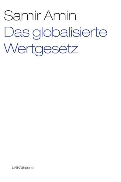 Das globalisierte Wertgesetz - Coverbild