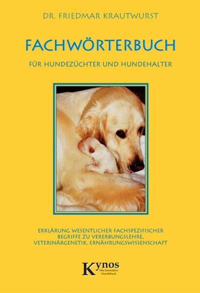 Fachwörterbuch für Hundezüchter und Hundehalter - Coverbild