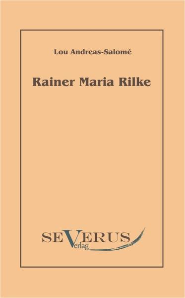 Rainer Maria Rilke - Coverbild