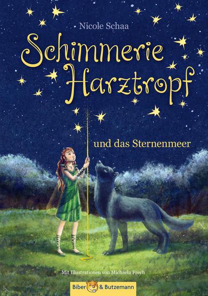 Schimmerie Harztropf und das Sternenmeer - Coverbild