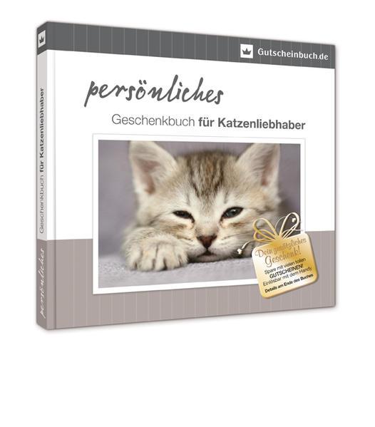Persönliches Geschenkbuch für Katzenliebhaber - Coverbild