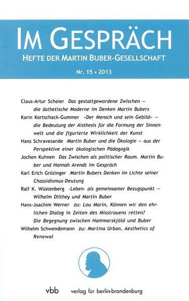 Im Gespräch, Heft 15/2013 - Coverbild