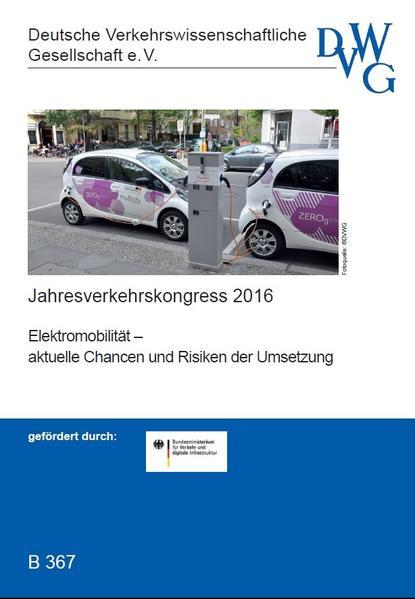 Elektromobilität - aktuelle Chancen und Risiken der Umsetzung - Coverbild