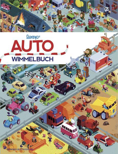Auto Wimmelbuch - Coverbild