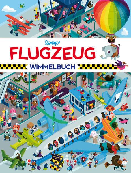 Flugzeug Wimmelbuch - Coverbild