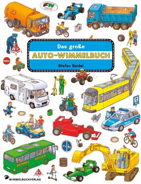 Das große Auto Wimmelbuch - Coverbild