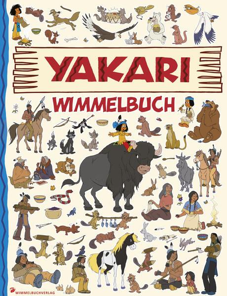 Yakari Wimmelbuch - Coverbild