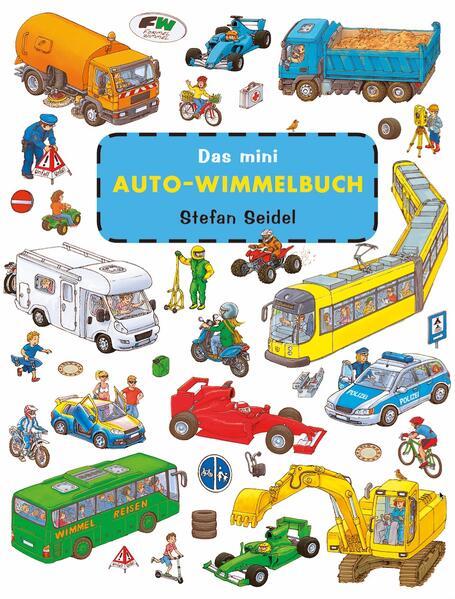 Das mini Auto Wimmelbuch - Coverbild