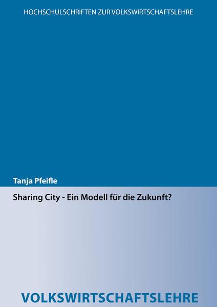 Sharing City - Ein Modell für die Zukunft? - Coverbild