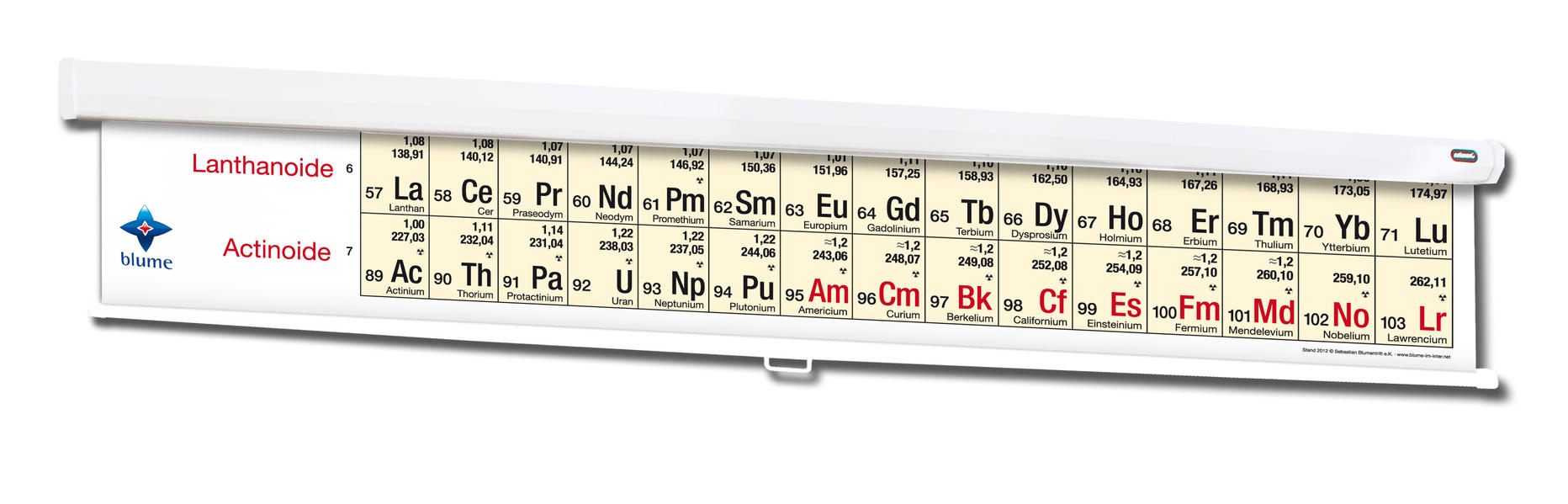 Periodensystem der Elemente - Coverbild