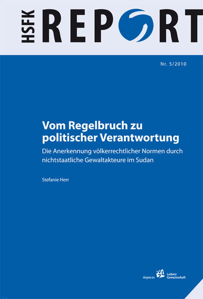 Vom Regelbruch zu politischer Verantwortung - Coverbild