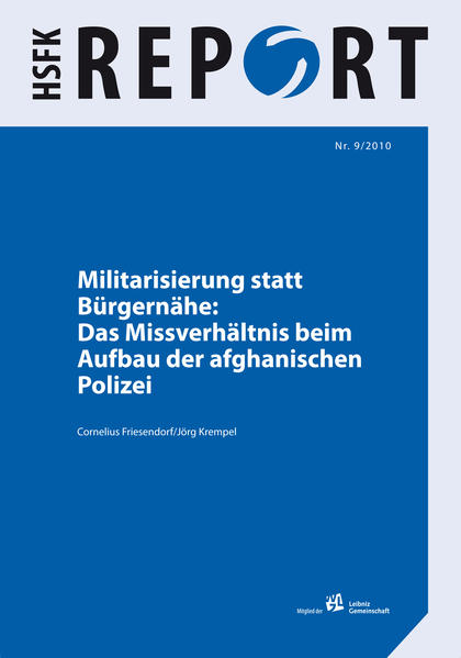 Militarisierung statt Bürgernähe - Coverbild
