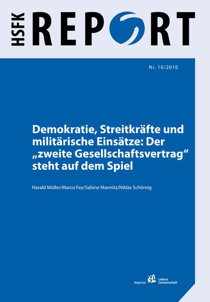 Demokratie, Streitkräfte und militärische Einsätze - Coverbild