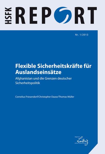 Flexible Sicherheitskräfte für Auslandseinsätze - Coverbild