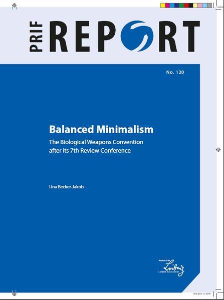 Balanced Minimalism - Coverbild