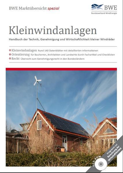 BWE Marktübersicht spezial Kleinwindanlagen - Coverbild