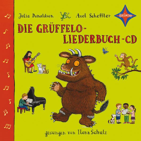 Die Grüffelo-Liederbuch-CD - Coverbild
