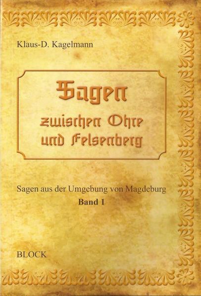 Sagen zwischen Ohre und Felsenberg - Coverbild