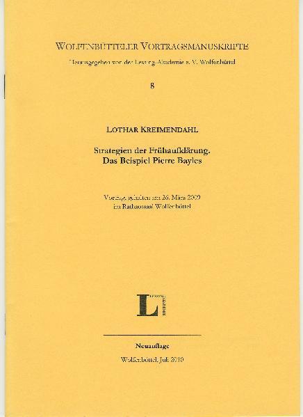 Strategien der Frühaufklärung. Das Beispiel Pierre Bayles. - Coverbild