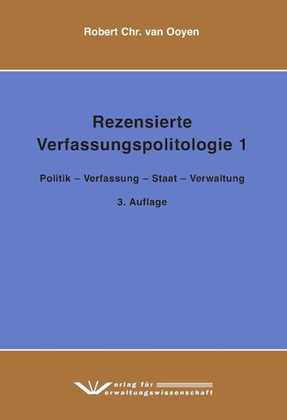Rezensierte Verfassungspolitologie  1 - Coverbild