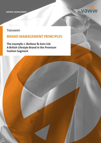 Brand Management Principles - Coverbild