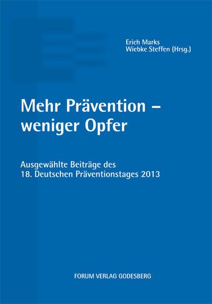 Mehr Prävention – weniger Opfer - Coverbild