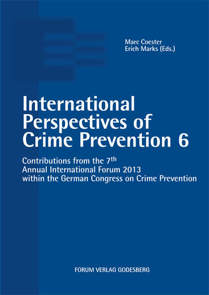 International Perspectives of Crime Prevention 6 - Coverbild