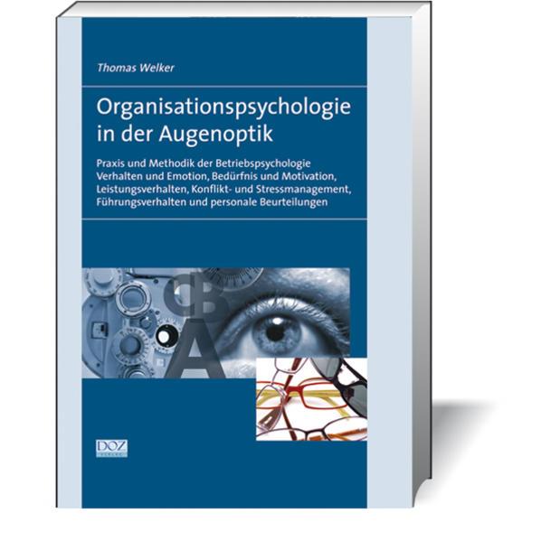 Organisationspsychologie in der Augenoptik - Coverbild