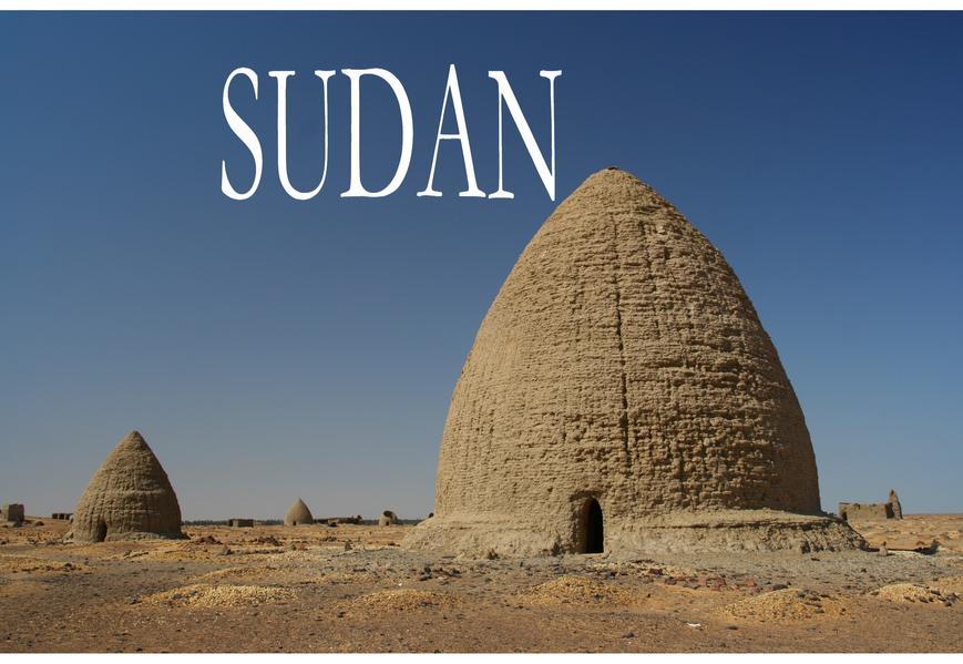Kleiner Bildband Sudan - Coverbild