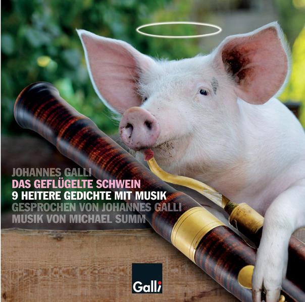 Das geflügelte Schwein - Coverbild
