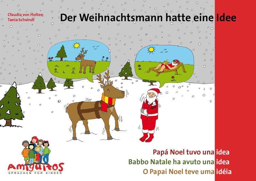 Der Weihnachtsmann hatte eine Idee - Coverbild