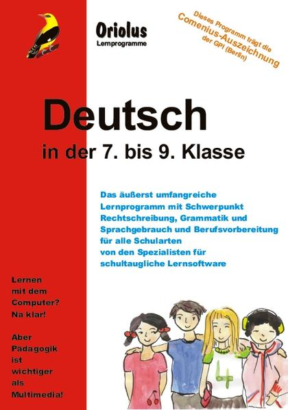 Deutsch 7. bis 9. Klasse - Einzellizenz - Coverbild