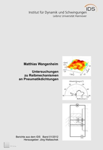 Untersuchungen zu Reibmechanismen an Pneumatikdichtungen - Coverbild