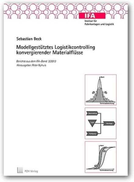 Modellgestütztes Logistikcontrolling konvergierender Materialflüsse - Coverbild