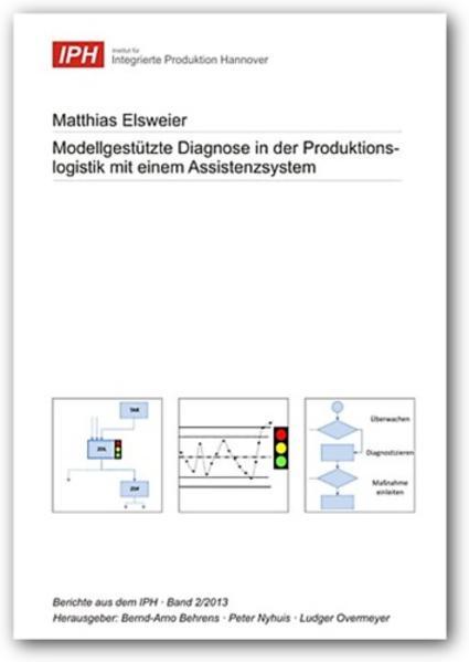 Modellgestützte Diagnose in der Produktionslogistik mit einem Assistenzsystem - Coverbild