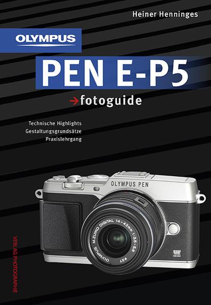 Olympus PEN E-P5 fotoguide - Coverbild