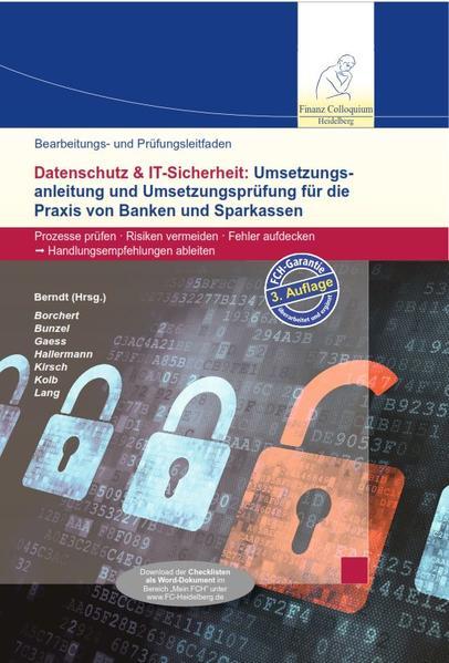 Bearbeitungs- und Prüfungsleitfaden: Datenschutz & IT-Sicherheit, 3. Auflage - Coverbild
