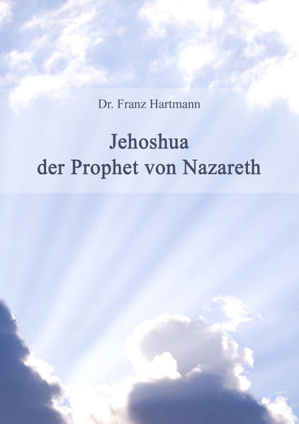 Jehoshua der Prophet von Nazareth - Coverbild