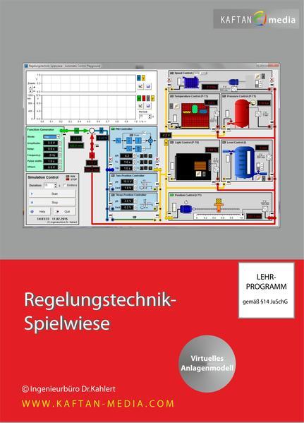 Regelungstechnik-Spielwiese - Coverbild