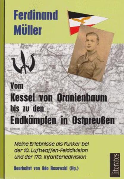 Vom Kessel von Oranienbaum bis zu den Endkämpfen in Ostpreußen - Coverbild