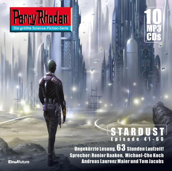 08 Perry Rhodan Sammelbox Stardust-Zyklus 41-60 - Coverbild