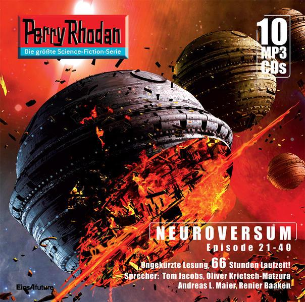 Perry Rhodan Sammelbox Neuroversum-Zyklus 21-40 - Coverbild