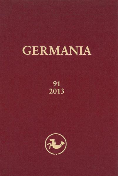 GERMANIA 91/2013 - Coverbild
