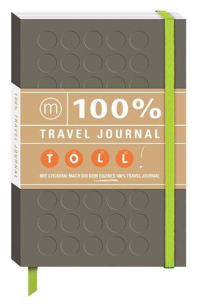 100% Travel Journal braun - Coverbild